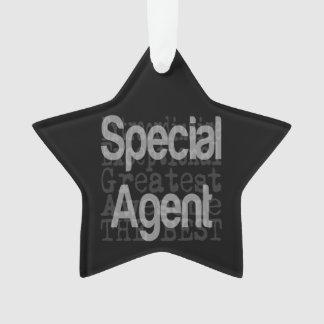 Special Agent Extraordinaire Ornament