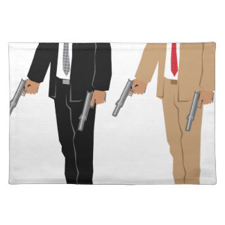 Special Agent Placemat