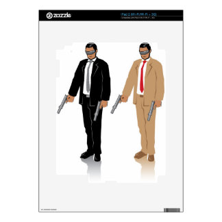 Special Agent Skins For iPad 2