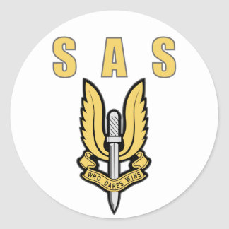 Special Air Service Classic Round Sticker