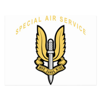 Special Air Service Post Cards