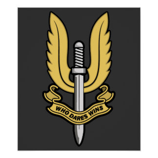Special Air Service Poster