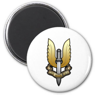 Special Air Service (SAS) 2 Inch Round Magnet