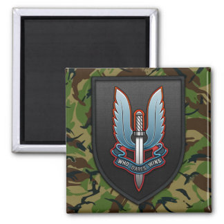 Special Air Service (SAS) 2 Inch Square Magnet