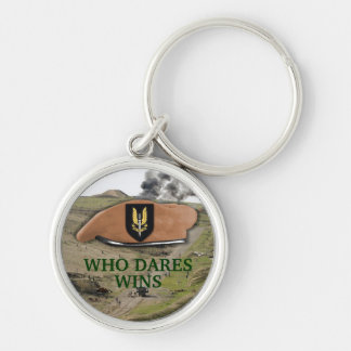 special air service sas badge beret Keychain