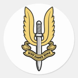 Special Air Service SAS Classic Round Sticker