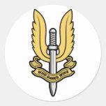 Special Air Service SAS Round Sticker
