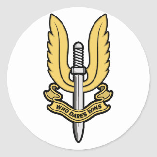 Special Air Service SAS Round Sticker