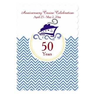 Special Anniversary Cruise Celebration Invitation