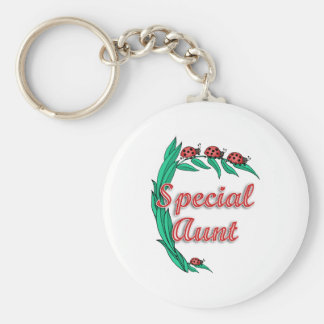 Special Aunt Mother's Day Gift Basic Round Button Keychain