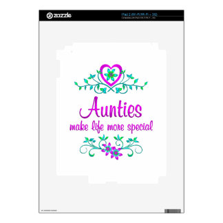 Special Auntie Decal For The iPad 2