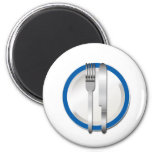 Special azul de la placa imán para frigorifico