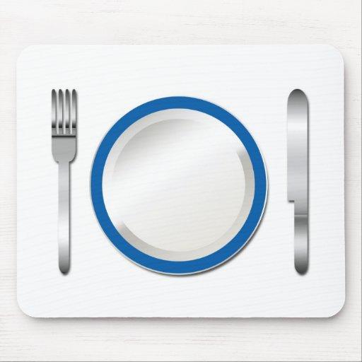 Special azul de la placa alfombrilla de ratones