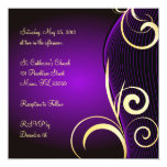 Special birthday or anniversary custom invitations