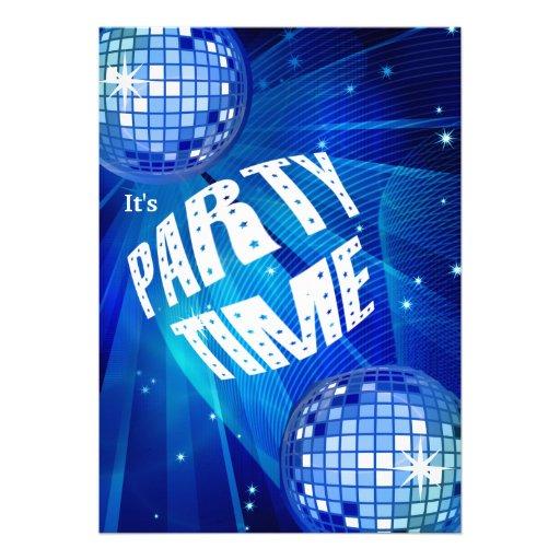 Special Celebration Party Invitation