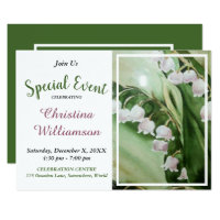 SPECIAL CELEBRATION PARTY INVITE