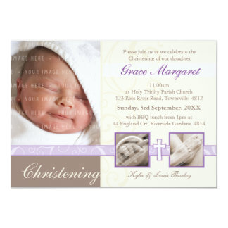 SPECIAL CHRISTENING INVITES :: precious 2L