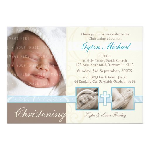 SPECIAL CHRISTENING INVITES :: precious 4L
