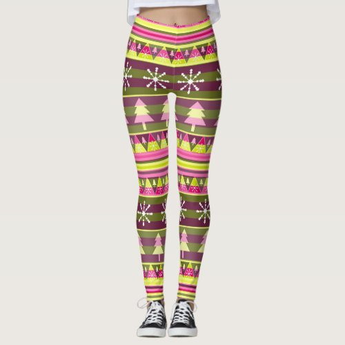 Special Christmas pattern Leggings