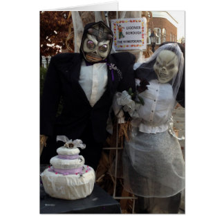 SPECIAL COUPLE AT HALLOWEEN CARD