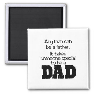 Special Dad 2 Inch Square Magnet