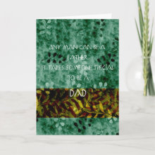 Special Dad Card - Let your Dad know how special he is!