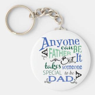Special Dad Keychain