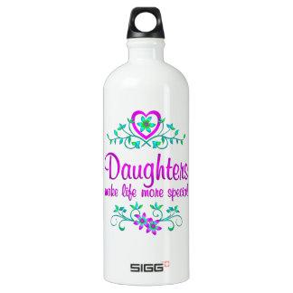Special Daughter Aluminum Water Bottle