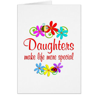 Special Daughter Cards