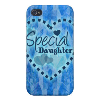 Special daughter gift covers for iPhone 4