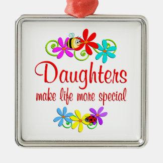 Special Daughter Metal Ornament