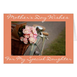 "**SPECIAL DAUGHTER** SPECIAL MOM ON ""MOTHER'S DAY"""