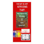 Special Day bookmarks BMSPD Custom Rack Card