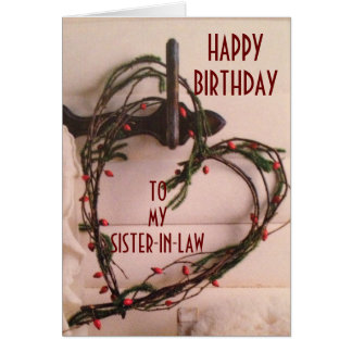 SPECIAL DAY LIKE YOU ON WBIRTHDAY SISTER-IN-LAW CARD