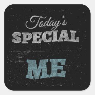 Special de hoy: Yo Pegatina Cuadrada