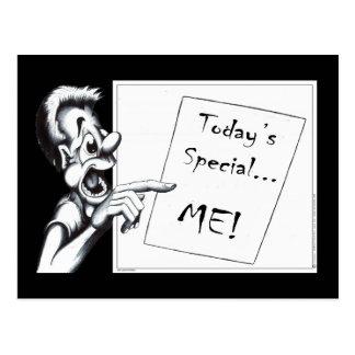 ¡Special de hoy… YO! Postal