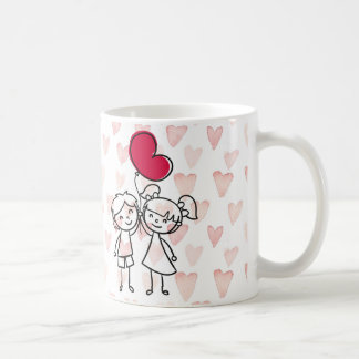 special de la tarjeta del día de San Valentín Taza Clásica