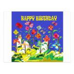 Special del feliz cumpleaños tarjeta postal