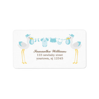 Special Delivery {blue} Address Label