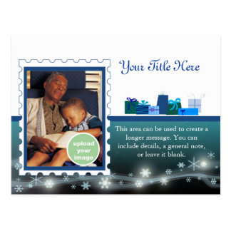 Special Delivery Blue Post Cards