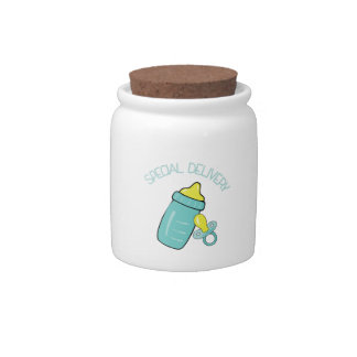 Special Delivery Candy Jars