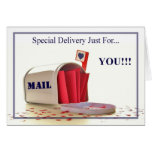 SPECIAL DELIVERY... CARDS