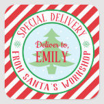 """Special delivery Christmas sticker<br><div class=""""desc"""">My special delivery stickers are perfect to keep your kids in the spirit of Christmas. Place on gifts and watch your little ones surprise.</div>"""