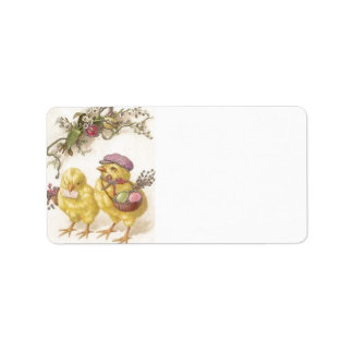 Special Delivery Easter Chicks Label