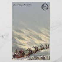 Special Delivery from North Pole by Sleigh