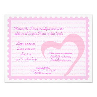 Special Delivery Personalized Invite