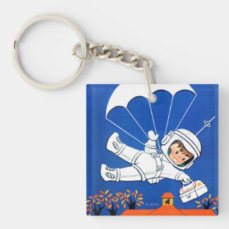 Special Delivery Keychain
