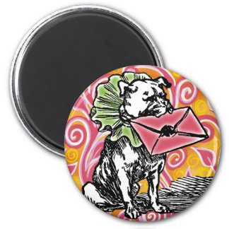 Special Delivery Magnet (round)