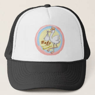 Special Delivery November Baby Trucker Hat