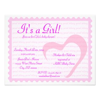 Special Delivery Personalized Invitations
